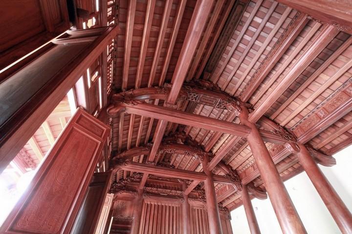 Gỗ lim trong thiết kế nhà gỗ