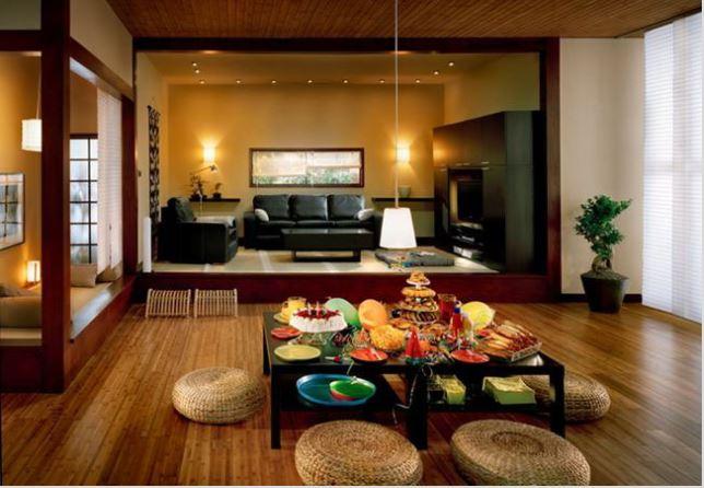 Mẫu phòng khách phong cách gia đình