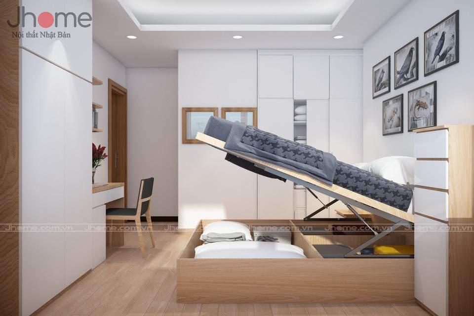 Thiết kế nội thất chung cư nhỏ với nội thất đa năng