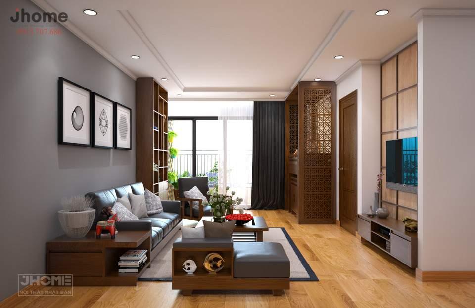 Thiết kế nội thất chung cư nhỏ 70m2