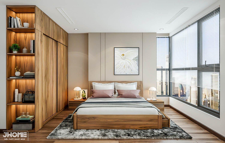 Thiết kế nội thất căn hộ 90m2 3 phòng ngủ hiện đại, tiện nghi